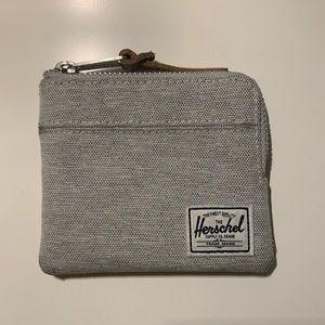 Herschel Johnny Wallet - Light Grey Crosshatch